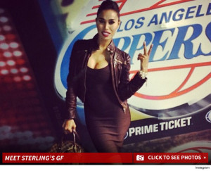 Stiviano and Sterling: birds of a feather