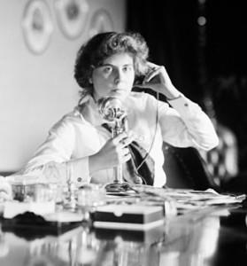Suffragist Genevieve Clark c. 1914