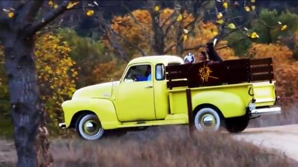 Yellow Truck Getaway